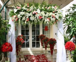 Wedding Flowers Gate